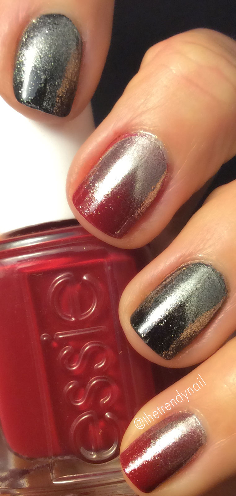 Playing Koi essie-chrome