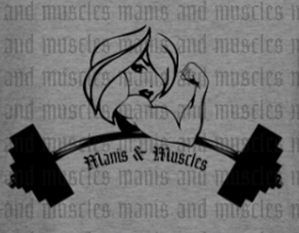 manis and muscles logo
