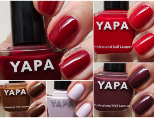 YAPA Beauty: Nailpolish Swatches & Review
