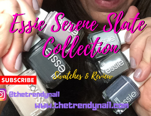 Essie: Serene Slate Swatches & Review