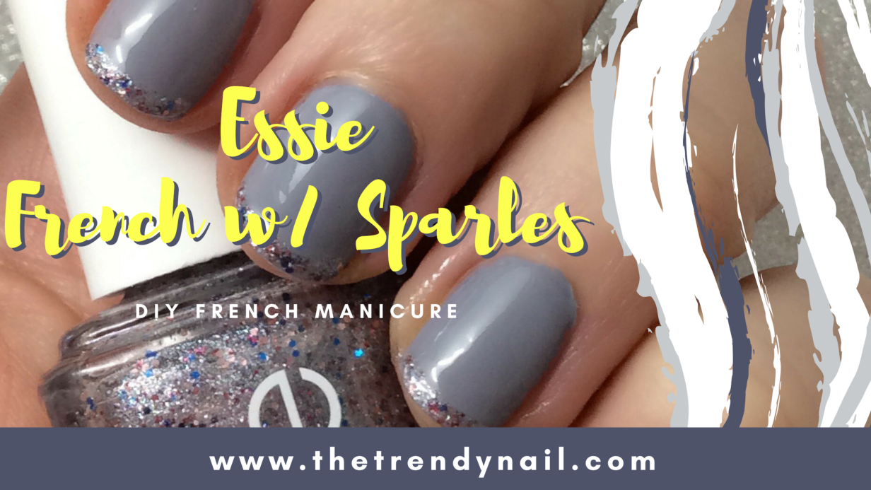 Essie French with Sparkles