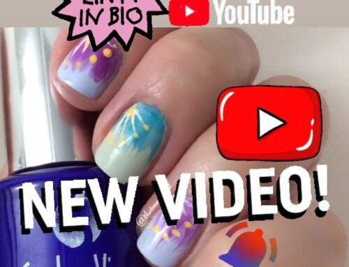 VLog: DIY Spring / Summer Nail Art Tutorial